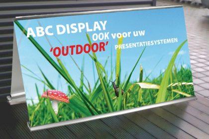 Laat buiten zien wie u bent Outdoor Arena ABC Display