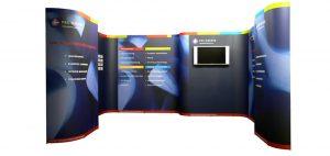 multimedia op uw stand Beursstand Modulair 2