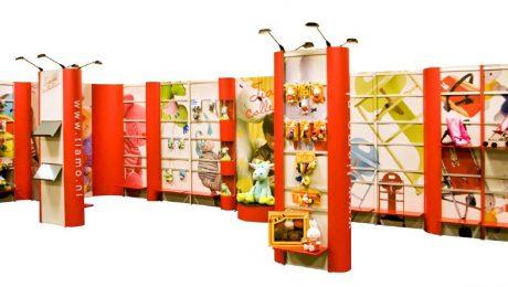 Beursstand met producten ABC Display