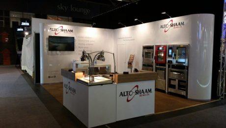 hoeksstand 15m2 (5x3mtr) beursstand ABC display