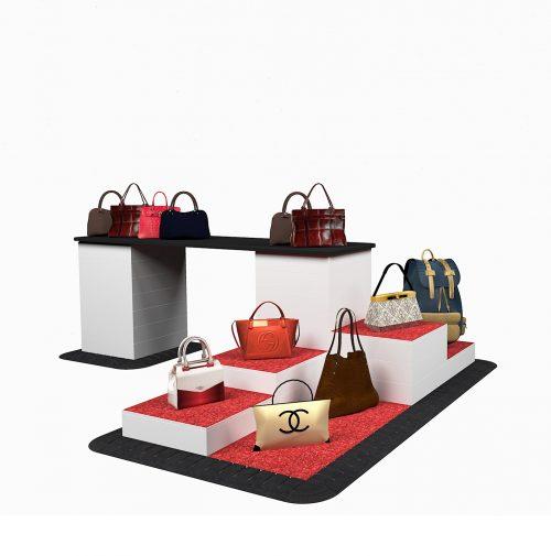 Professional Display kubussen tassen